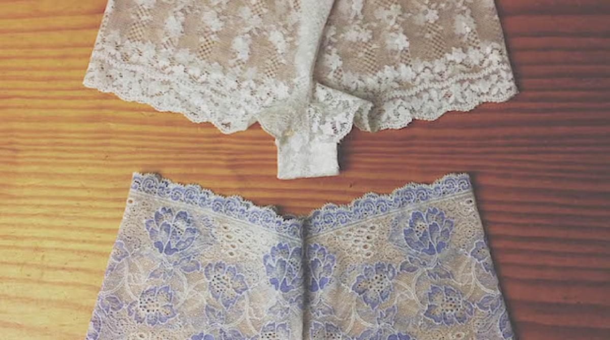 Sew It: DIY Lace Underwear