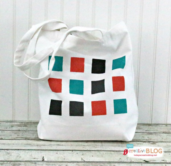 Carry It All in Style: DIY Color Block Tote Bag