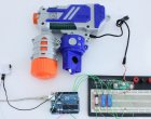 Motion Activated Water Gun Turret