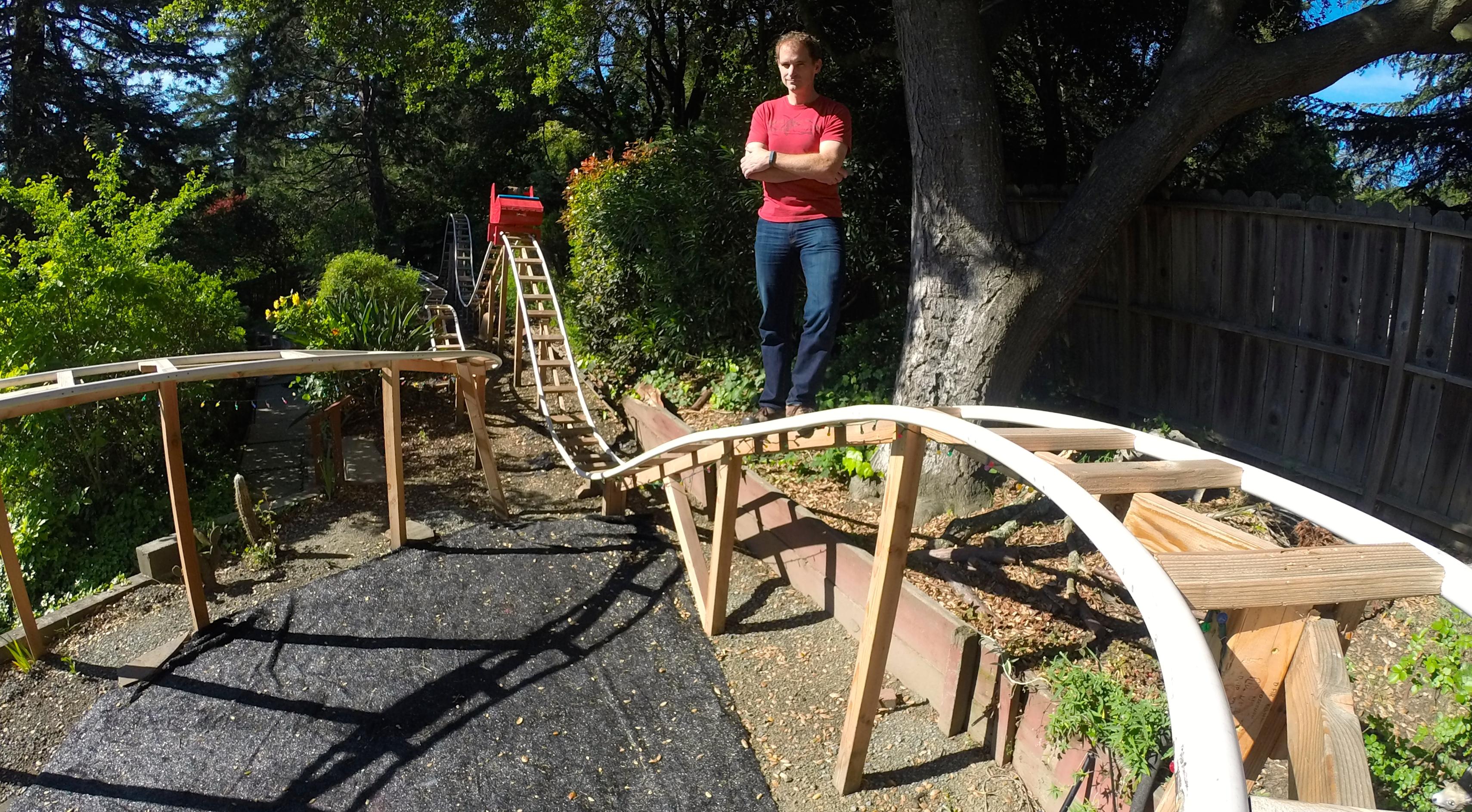 Build A Backyard Roller Coaster  Fun & Games Make