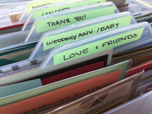 Craft Organization: Clean up Your Card Stash!