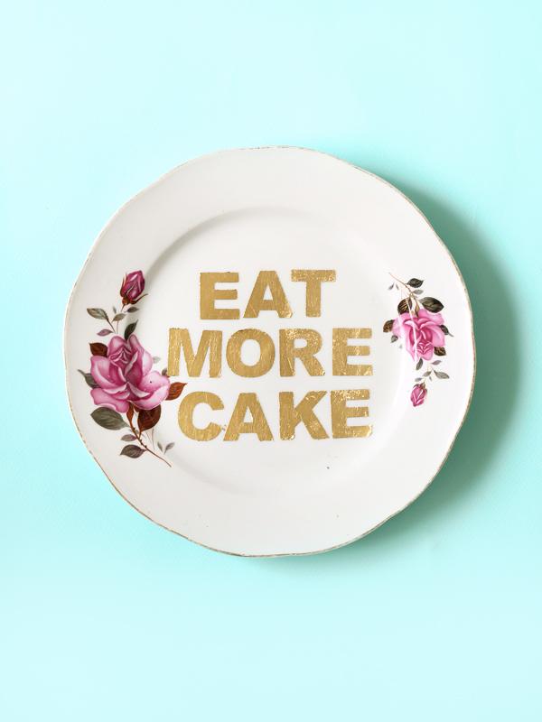 Not Your Grandma's Decorative Plates