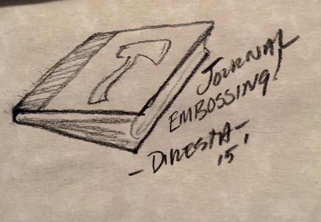 DiResta: Embossing a Journal