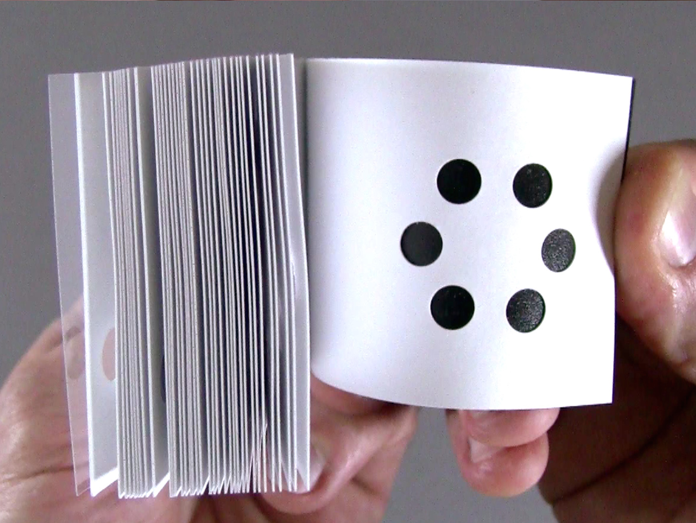 Hole Punch Adds Twist to the Classic Flipbook  Make