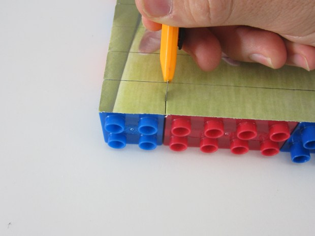 Make a Lego Block Puzzle in 3 Simple Steps