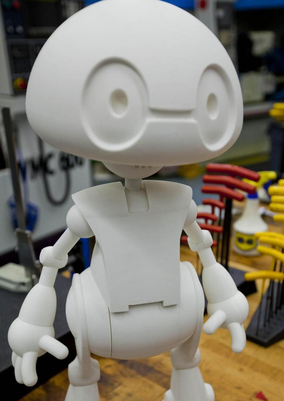 Hollywood Is Courting Jimmy the Robot