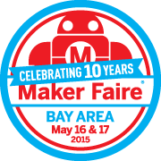 This exhibit will be appearing at the 10th annual Maker Faire Bay Area. Don't have tickets yet? Get them here!