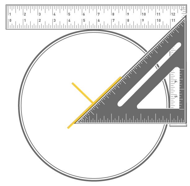 Skill builder how to find the center of any circle make for Finding a builder