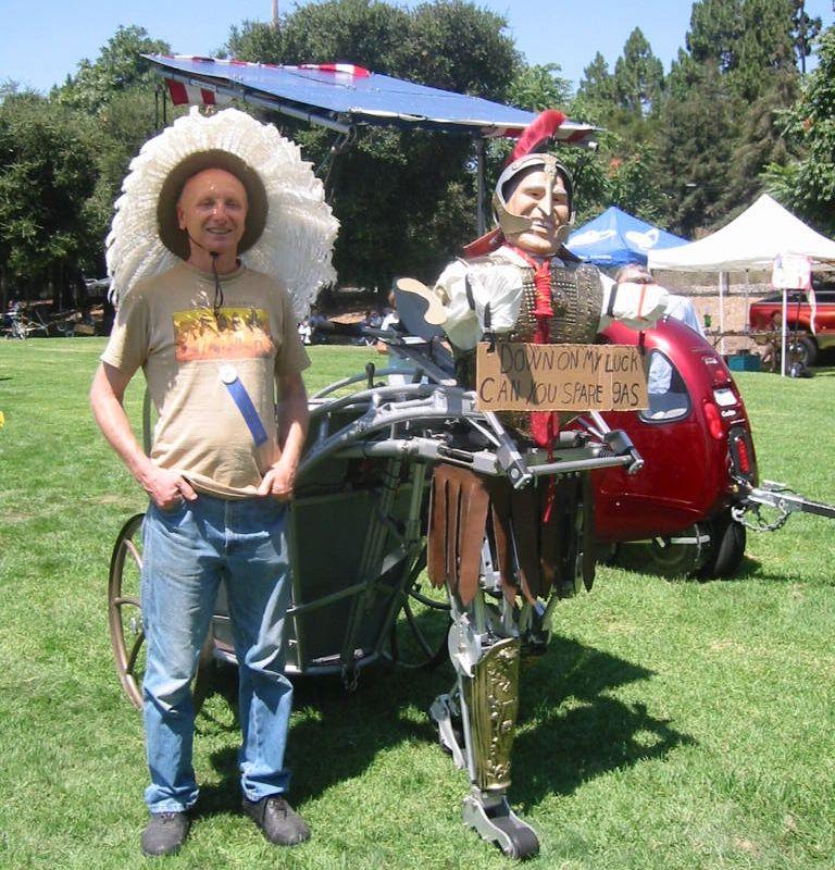 solar chariot by Bob Schneeveis