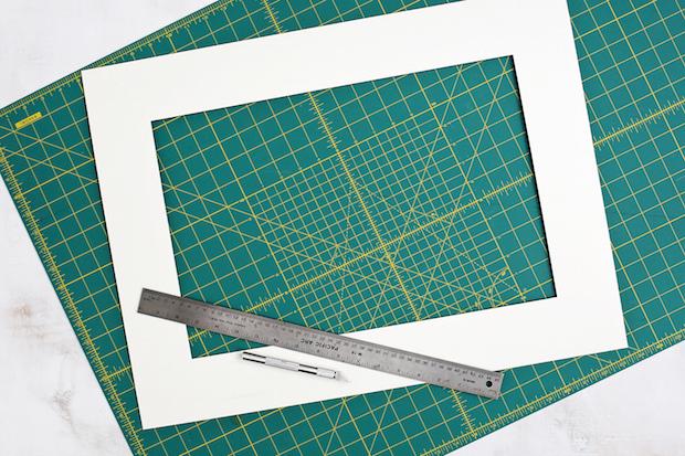 Decor Upgrade: DIY Patterned Photo Mats
