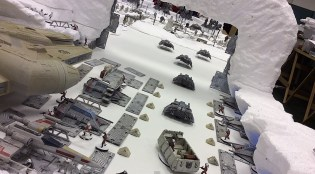 Echo Base springs into action to try and repel the rapidly advancing Imperial forces.