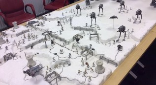 It's up close and knifey in the trenches as the Imperial snow patrol clashes with the rebel forces.