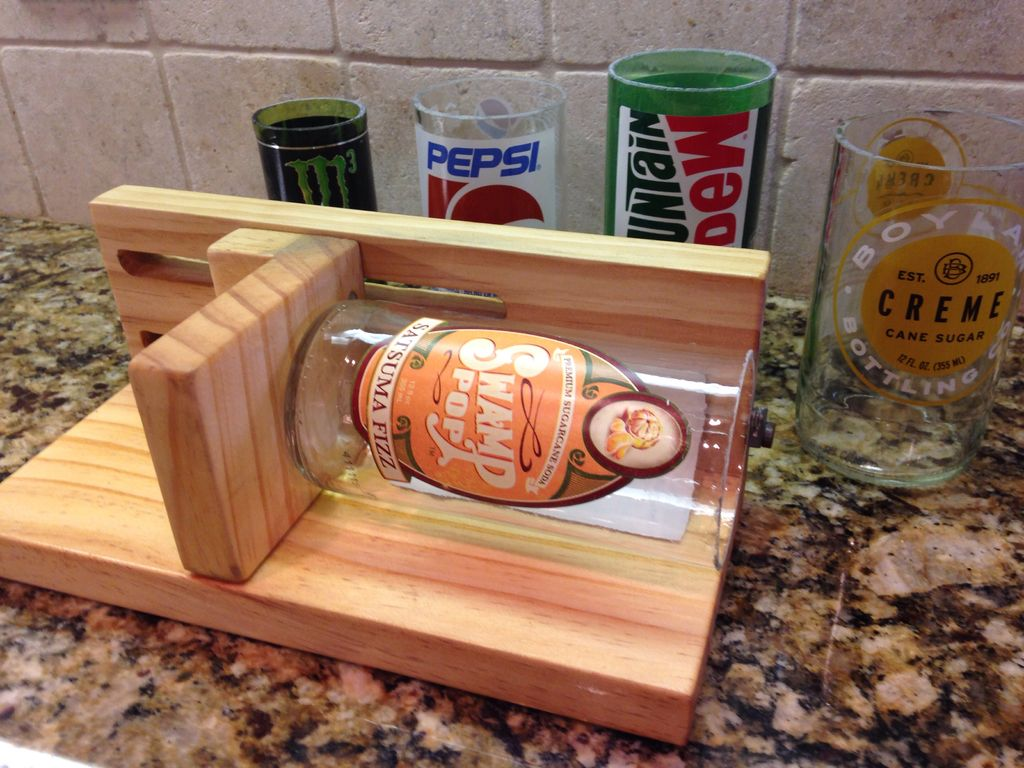 Build an Adjustable Bottle Cutter for 30-Second Clean Cuts