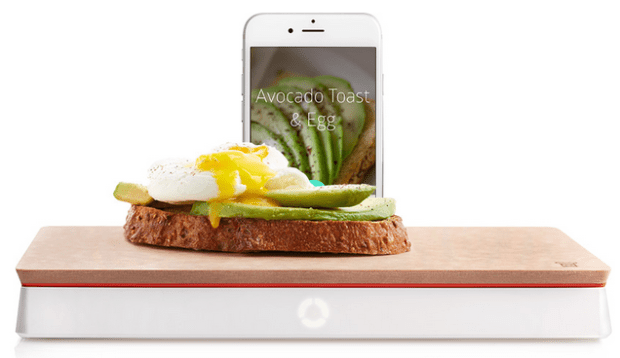 Track your calorie intake with a smart scale make for Perfect kitchen pro smart scale and app system