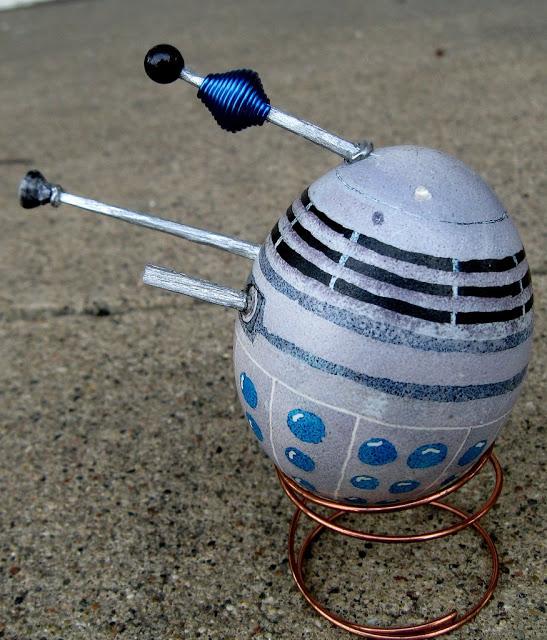 Daleks, Ninja Turtles, and More Geeky Easter Egg Creations