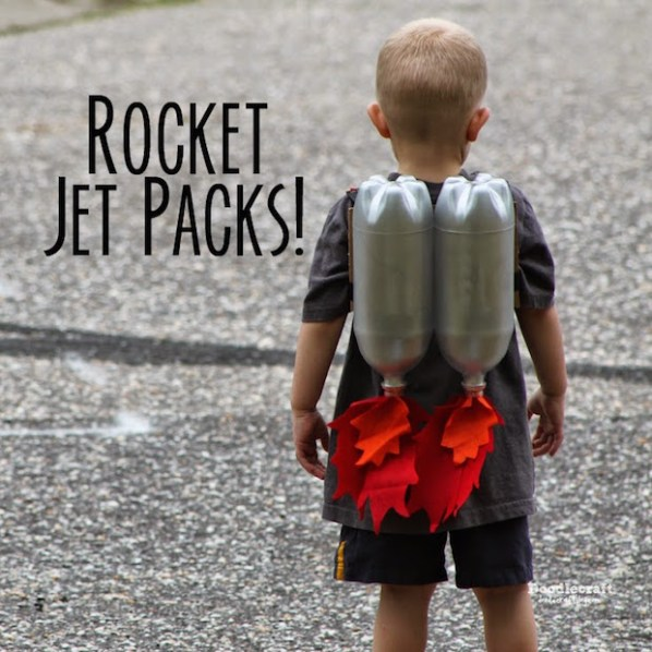 Upcycled Awesomeness: DIY Soda Bottle Jet Pack for Kids