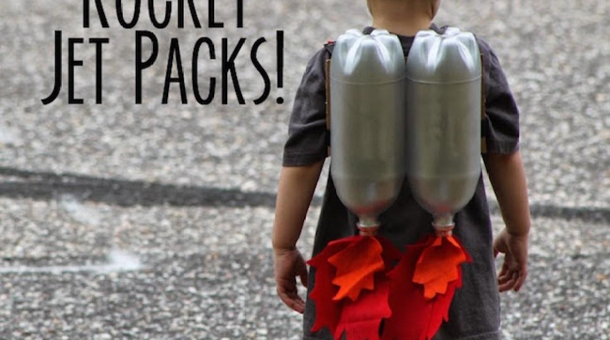 Upcycled Awesomeness: DIY Soda Bottle Jet Pack for Kids