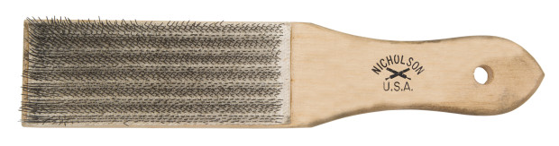 file brush cleaning