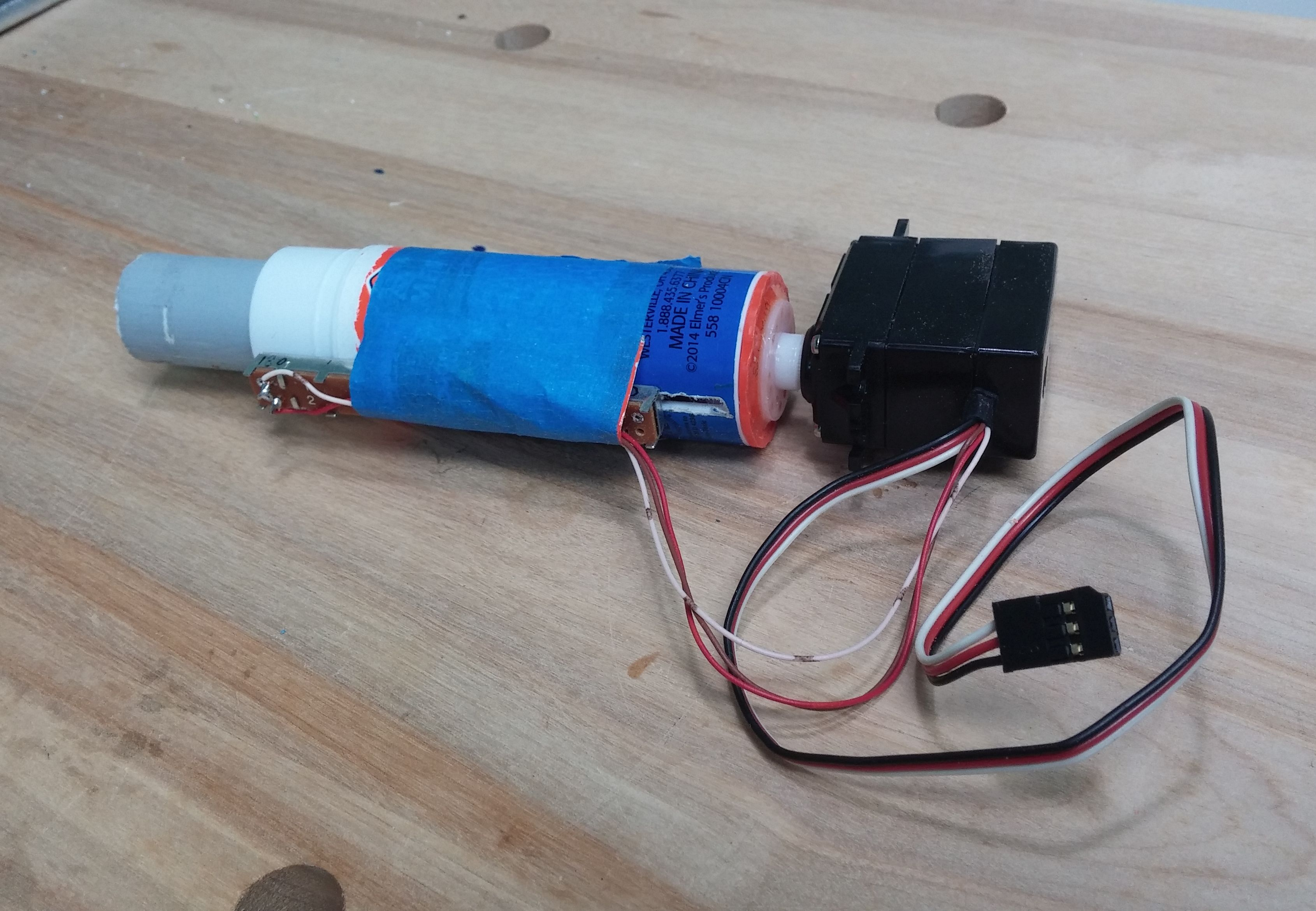 Build This Inexpensive Linear Actuator from a Glue Stick | Make: on