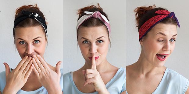 Summer Style: Knotted Jersey Headband