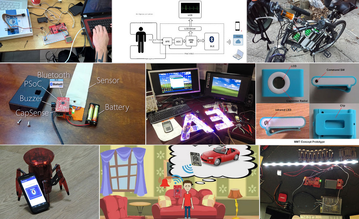 Your Vote Counts: Help Decide the Winners of the #PSoCMaker Challenge.