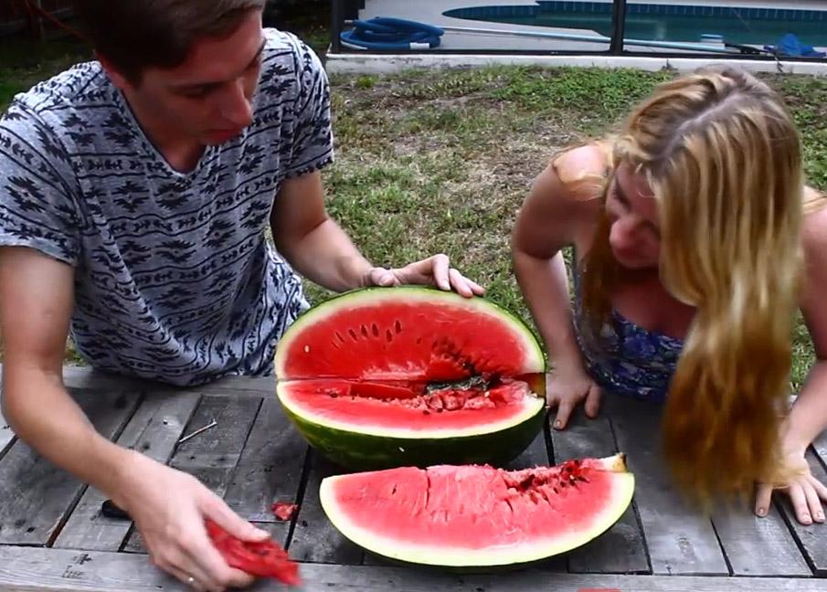 What Happens When You Pour Molten Aluminum into a Watermelon?