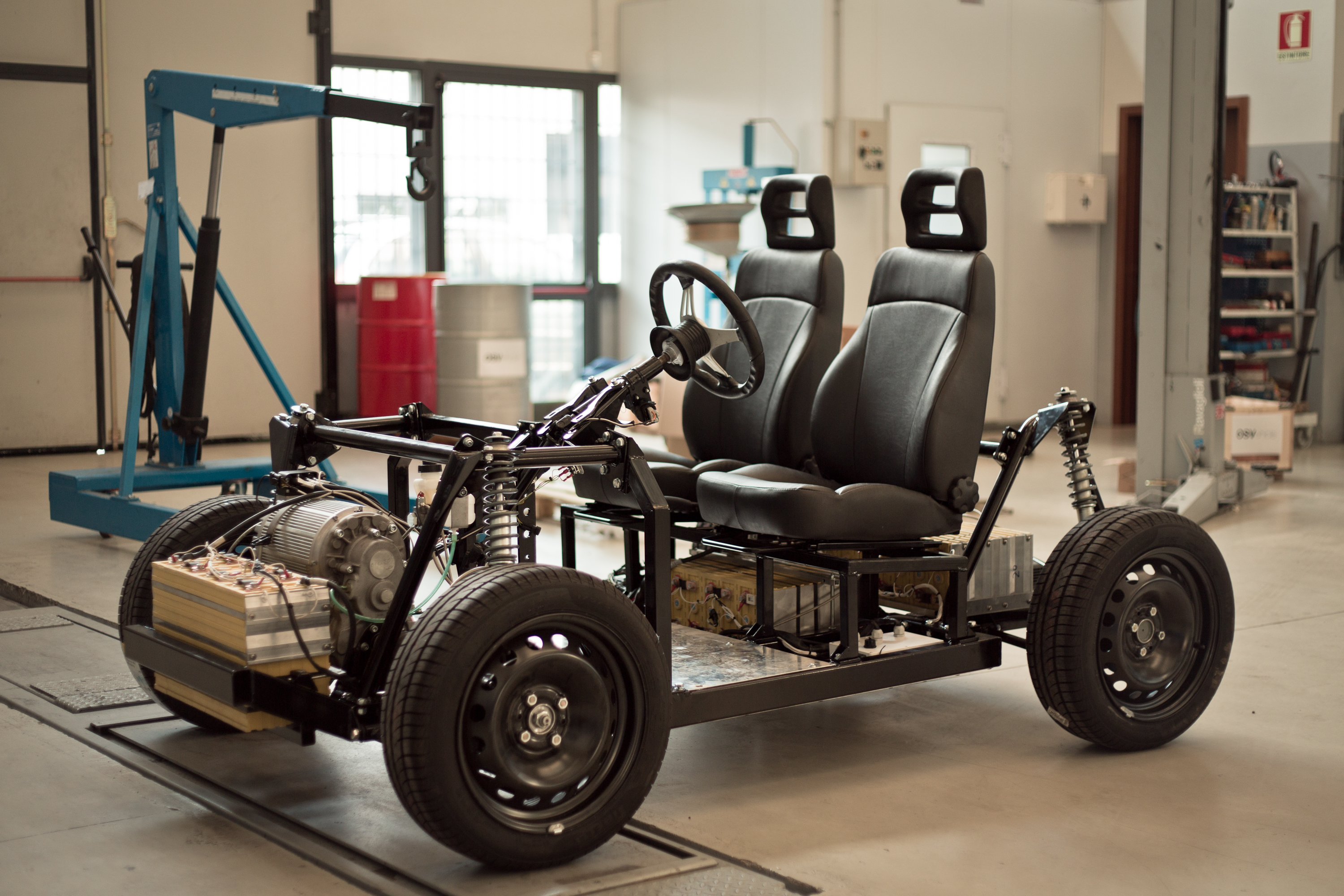 OSVehicle's Tabby EVO: Build This Open-Source EV in an Hour