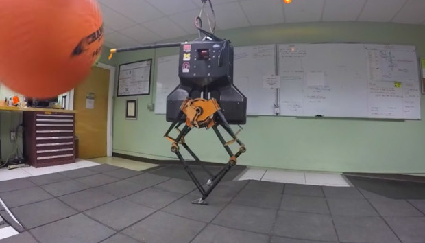 Dynamic Robotics Lab's ATRIAS was designed to test theoretical concepts for agile robotic locomotion.