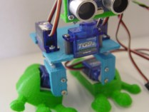 Arduped Biped Robot by DJUltis