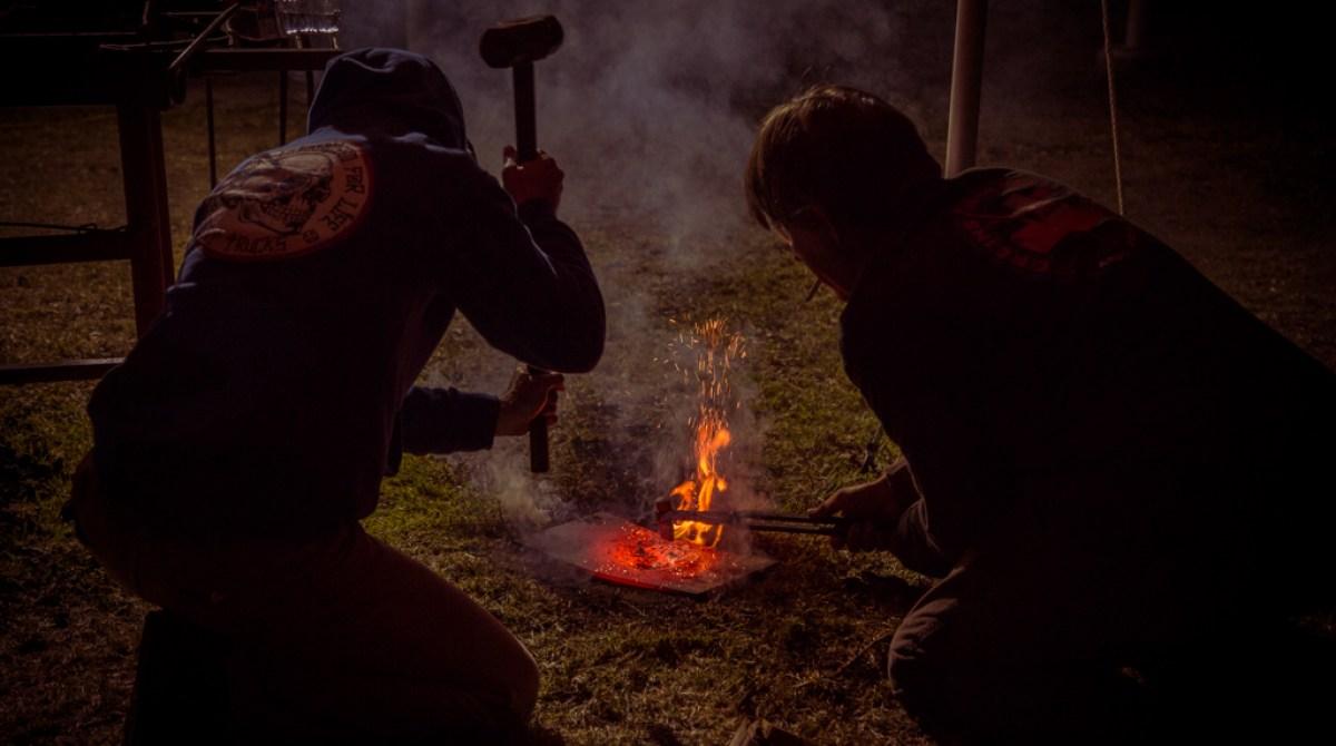 Blacksmiths Gather to See, Hear, Teach, and Learn