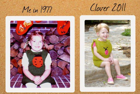 Flashback CRAFT Pattern: My Fair Ladybug, by Vickie Howell