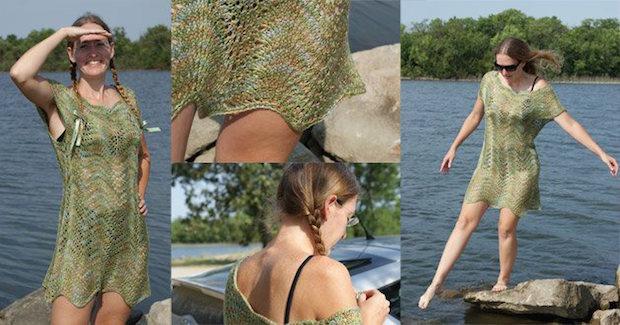 Flashback: Splash Swimsuit Cover-Up