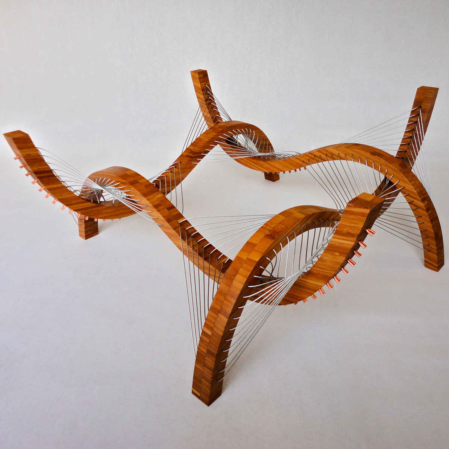 Robby Cuthbert s Tensegrity Furniture Designs