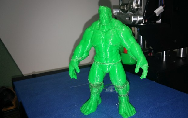 Even The Hulk sometimes needs a little help... this time from hot glue.