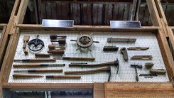 Shipwright and stonemason tools