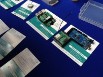 Wireless sensors platform that uses open platforms such as Arduino and Raspberry Pi.
