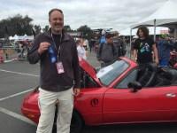 Patrick Mackey's EV Miata