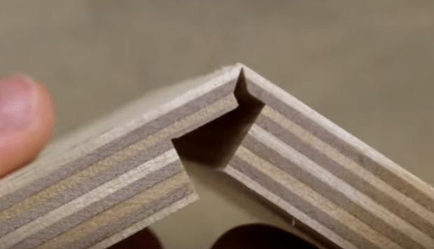 Custom Tablesaw Blade Makes Origami Drawers Make