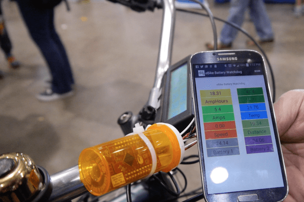 An eBike Battery Health and Monitoring application using Cypress PSoC.
