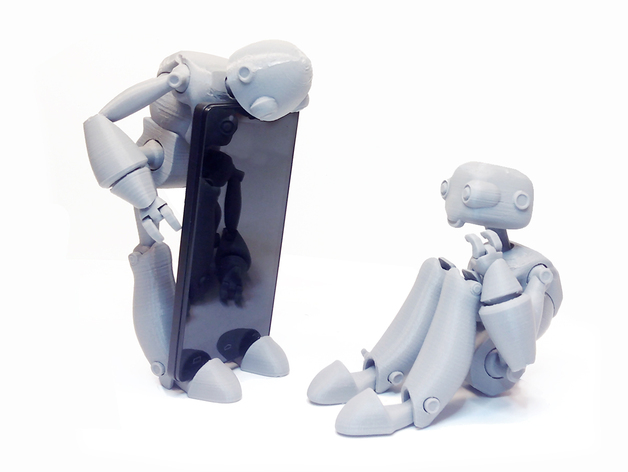 Replicate Some Robots with these 3D Printing Projects