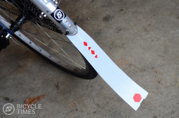 bike fender extender