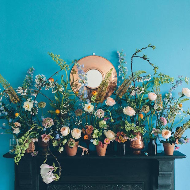 Celebrate May Flowers: Spring Garden Mantle Display