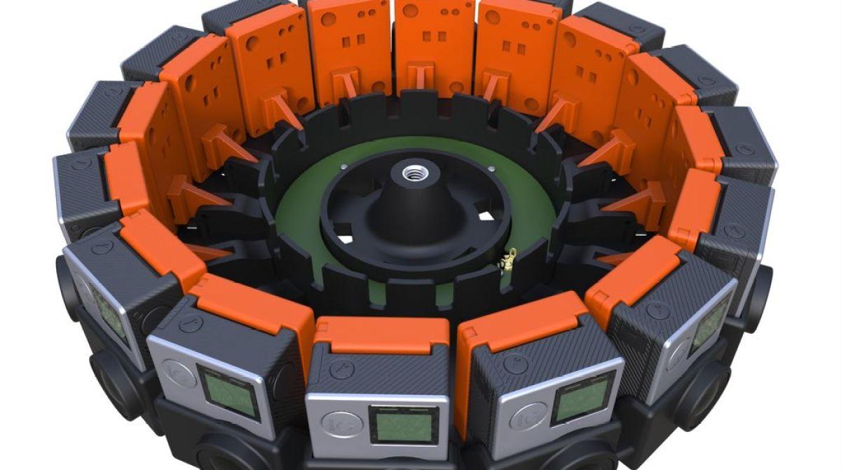 Google Sharing Plans for DIY 3D VR Camera Rig