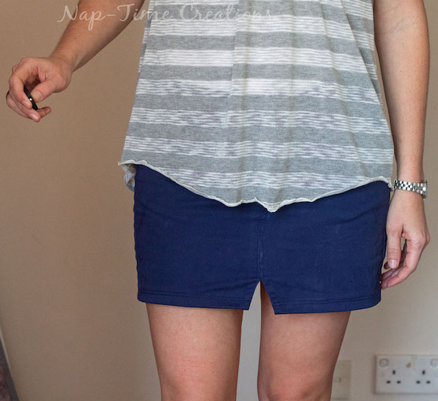 Stitch It: Turn a Pair of Pants into a Sassy Refashioned Skirt