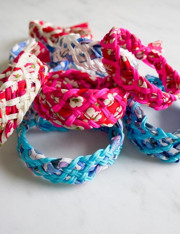 Camp Craft Upgrade: Liberty Braided Friendship Bracelets
