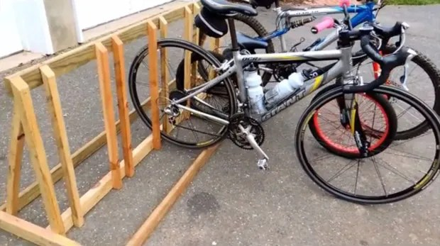 6 bike storage solutions you can build right now make wooden bike rack if you want to build solutioingenieria Image collections