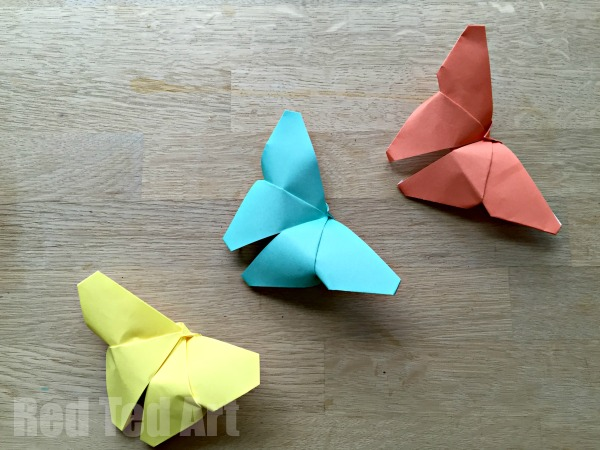 Paper Fun: Easy Origami Butterflies
