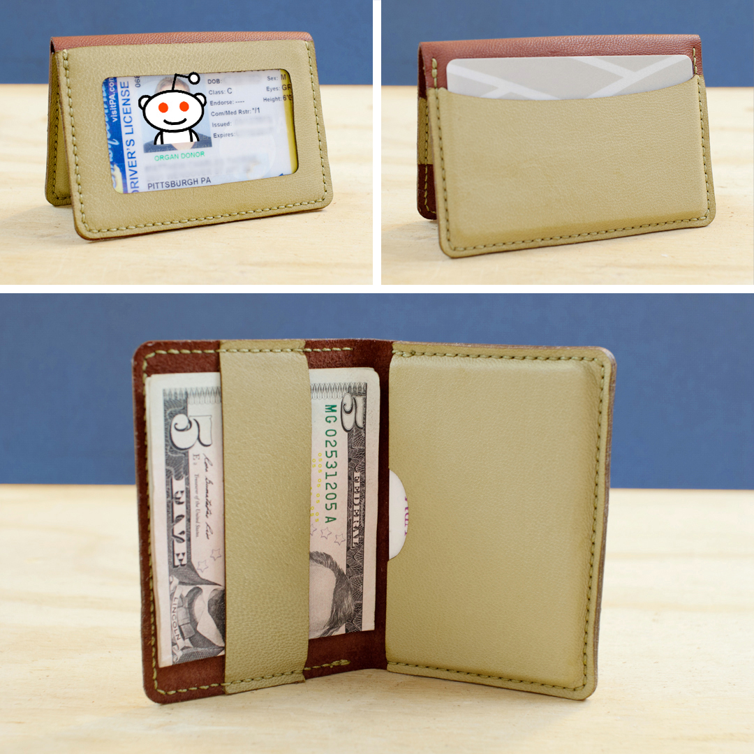 This Laser-Cut Wallet Is Sold as a DIY Kit