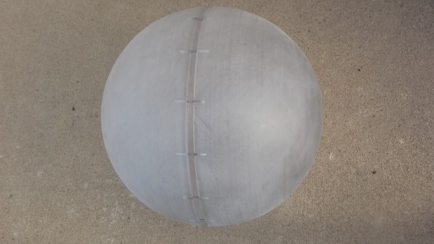 Hemispheres fitted
