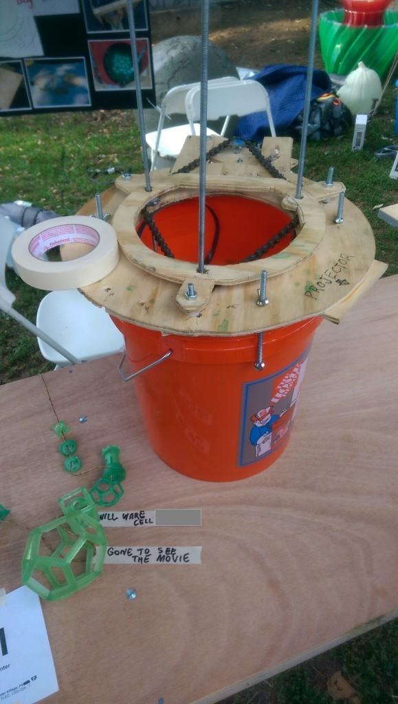The Bucket Printer At World Maker Faire 2014